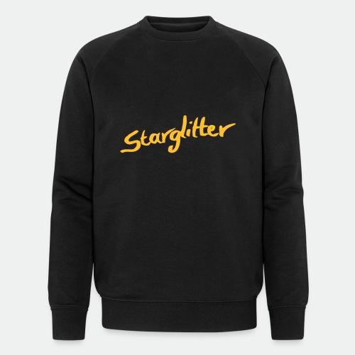 Starglitter - Lettering - Men's Organic Sweatshirt