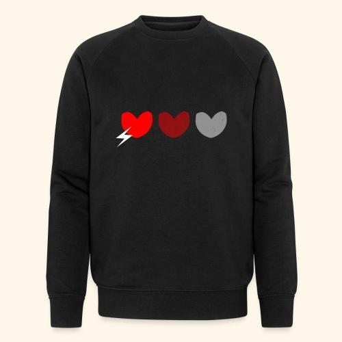 3hrts - Økologisk Stanley & Stella sweatshirt til herrer