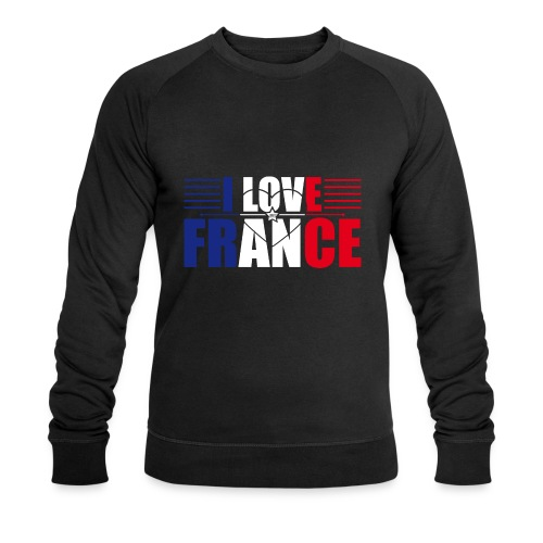 love france - Sweat-shirt bio Stanley & Stella Homme