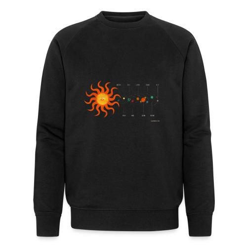 Solar System - Men's Organic Sweatshirt