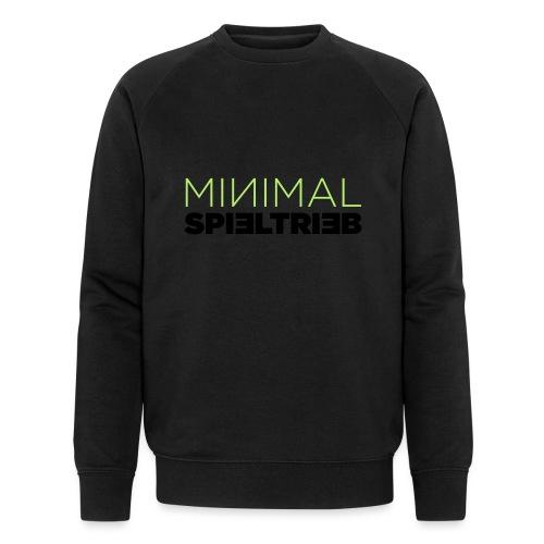 minimal spieltrieb - Männer Bio-Sweatshirt von Stanley & Stella