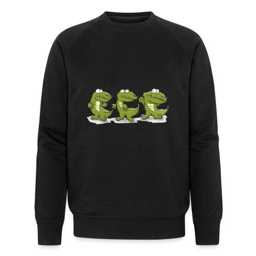 Nice krokodile - Männer Bio-Sweatshirt von Stanley & Stella