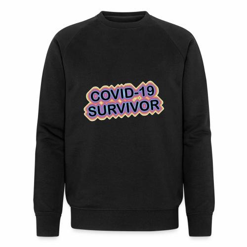 covic19survivor - Økologisk sweatshirt til herrer