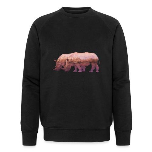 Nashorn Alpen - Männer Bio-Sweatshirt von Stanley & Stella