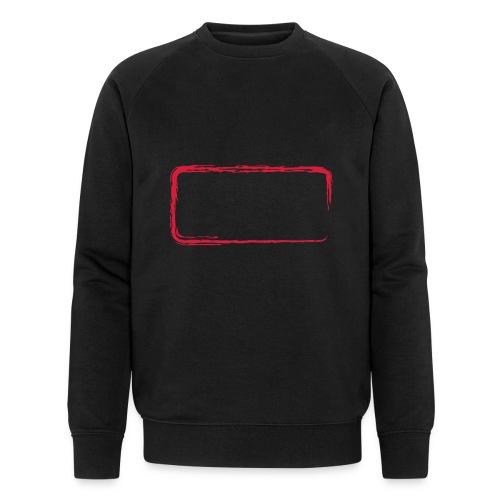 Rahmen_01 - Männer Bio-Sweatshirt