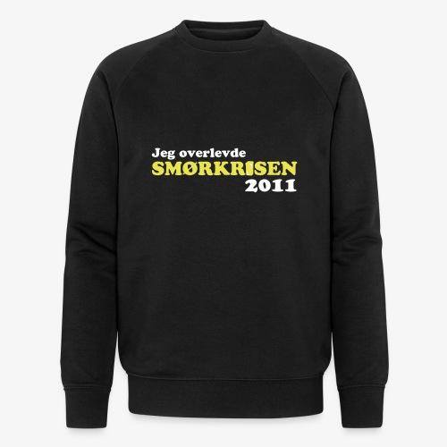Smørkrise 2011 - Norsk - Økologisk sweatshirt for menn fra Stanley & Stella