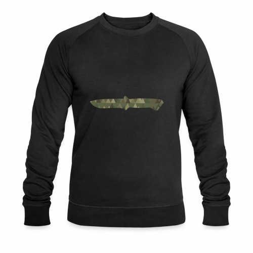 Knife - Männer Bio-Sweatshirt von Stanley & Stella
