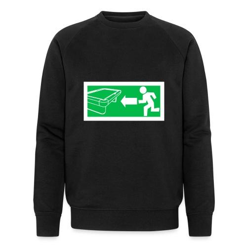 """Billard Shirt """"Notausgang Billard"""" - Pool Billard - Männer Bio-Sweatshirt von Stanley & Stella"""