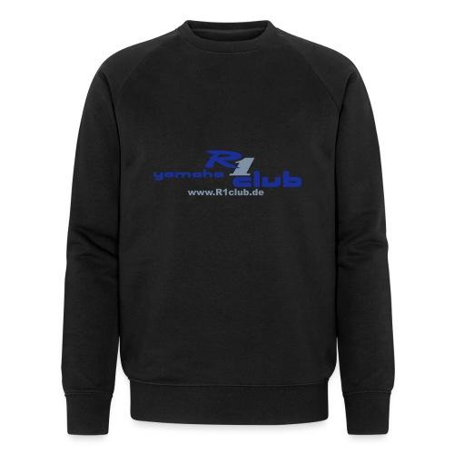 R1club Logo blau - Männer Bio-Sweatshirt von Stanley & Stella