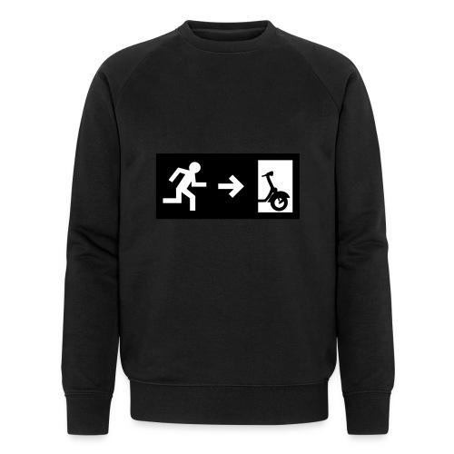 notaufgang - Männer Bio-Sweatshirt von Stanley & Stella