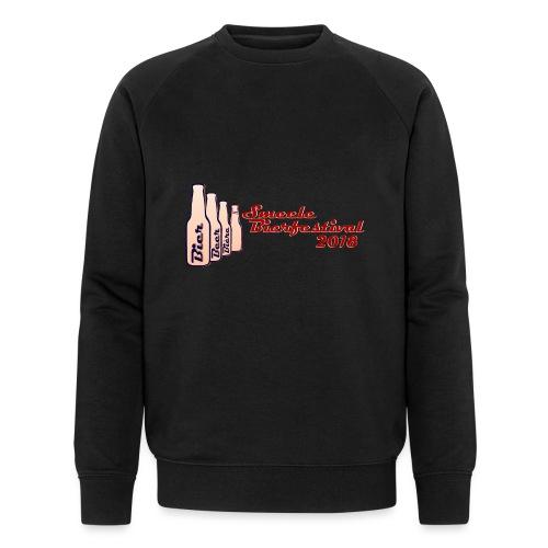 Smeele Bierfestival 2018 - Mannen bio sweatshirt van Stanley & Stella