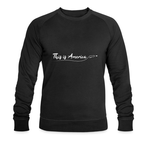 This is America - Gun violence - Sweat-shirt bio Stanley & Stella Homme