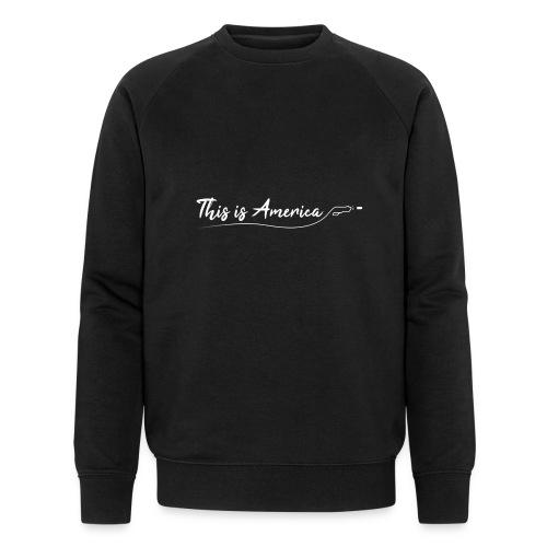 This is America - Gun violence - Sweat-shirt bio Stanley & Stella Homme