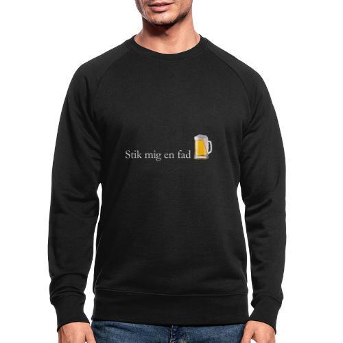 Stik mig en fad af Dale & Nilsson - Økologisk sweatshirt til herrer