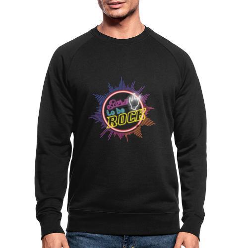 born to be rock - Men's Organic Sweatshirt