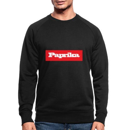 paprika - Männer Bio-Sweatshirt