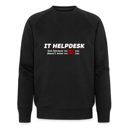 I.T. HelpDesk - Men's Organic Sweatshirt