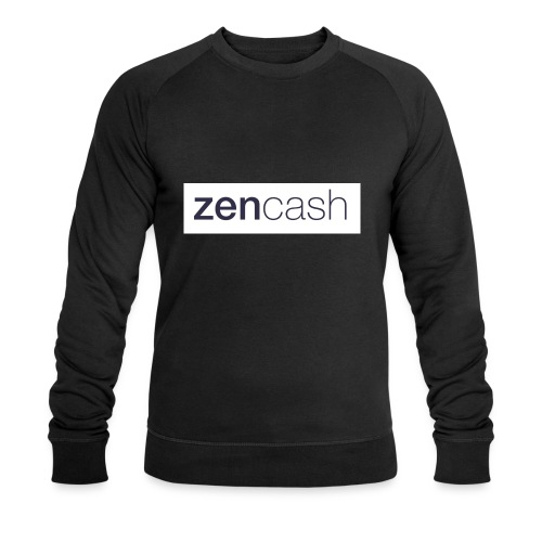 ZenCash CMYK_Horiz - Full - Men's Organic Sweatshirt by Stanley & Stella