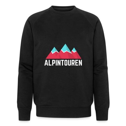 Alpintouren Logo - Männer Bio-Sweatshirt von Stanley & Stella