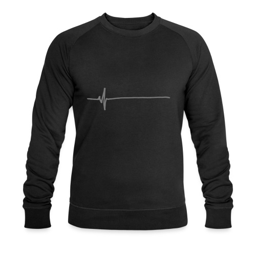 Flatline - Men's Organic Sweatshirt by Stanley & Stella