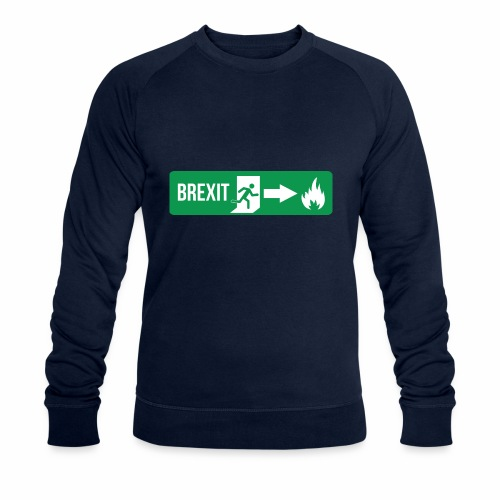 Fire Brexit - Men's Organic Sweatshirt by Stanley & Stella
