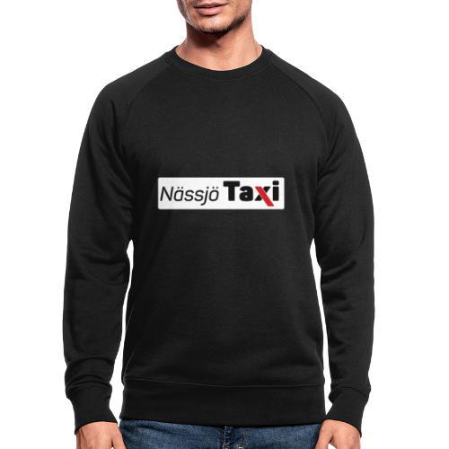 Nässjö taxi tryck - Ekologisk sweatshirt herr