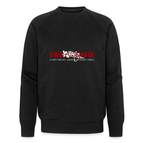 2wear grafix box logo - Økologisk sweatshirt til herrer