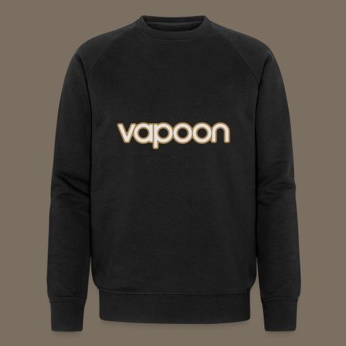 Vapoon Logo simpel 2 Farb - Männer Bio-Sweatshirt