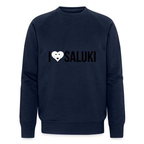 I Love Saluki - Felpa ecologica da uomo di Stanley & Stella
