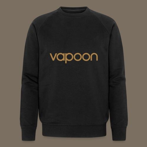 Vapoon Logo simpel 01 - Männer Bio-Sweatshirt