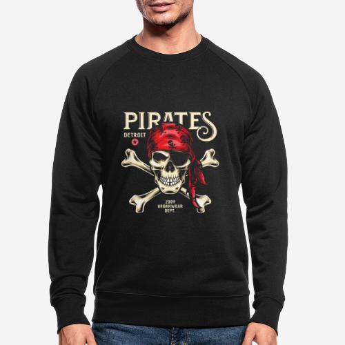 Piraten Urban Wear Sportswear - Männer Bio-Sweatshirt