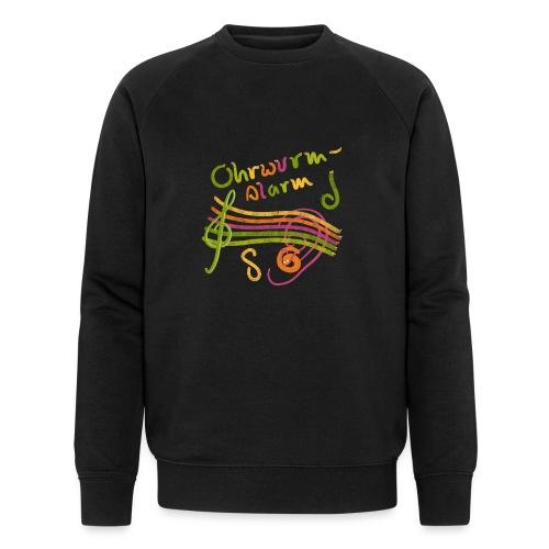 Ohrwurm Alarm Musiknoten und Würmer - Männer Bio-Sweatshirt von Stanley & Stella