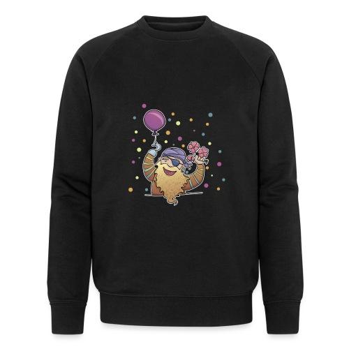 Partypirat - Männer Bio-Sweatshirt von Stanley & Stella