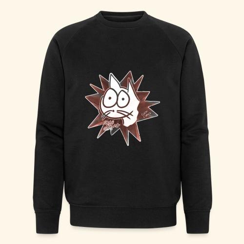 Glotzi Stern - Männer Bio-Sweatshirt von Stanley & Stella