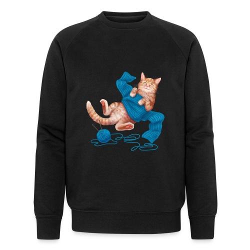 Cozy Cat - Männer Bio-Sweatshirt von Stanley & Stella
