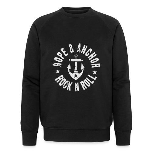 HOPE & ANCHOR-Rock´n´Roll - Männer Bio-Sweatshirt