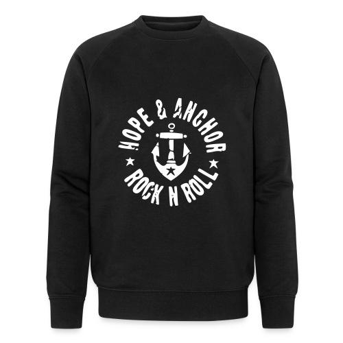 HOPE & ANCHOR-Rock´n´Roll - Männer Bio-Sweatshirt von Stanley & Stella