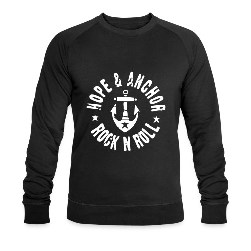 HOPE & ANCHOR-Rock´n´Roll - Männer Bio-Sweatshirt von Stanley & Stella