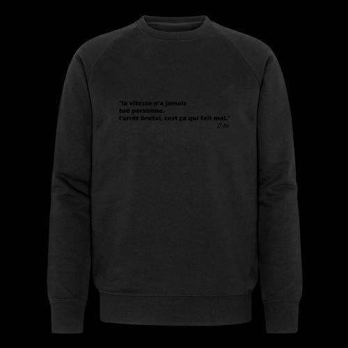 vitesse (noir) - Sweat-shirt bio Stanley & Stella Homme