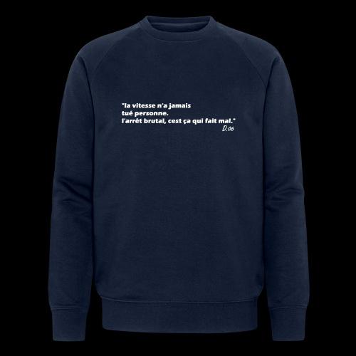 vitesse (blanc) - Sweat-shirt bio Stanley & Stella Homme