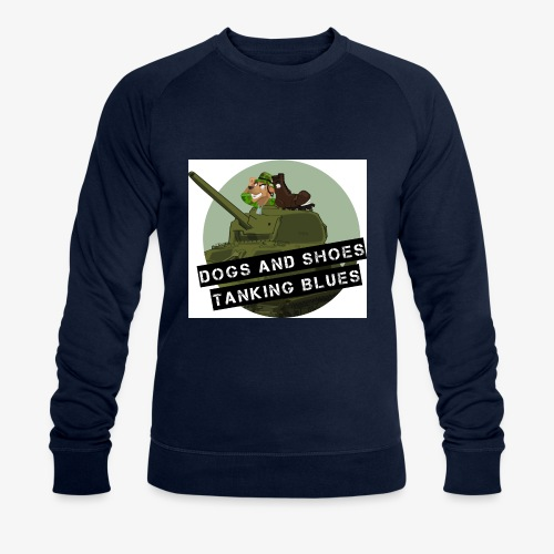 logo dogs nieuw - Mannen bio sweatshirt