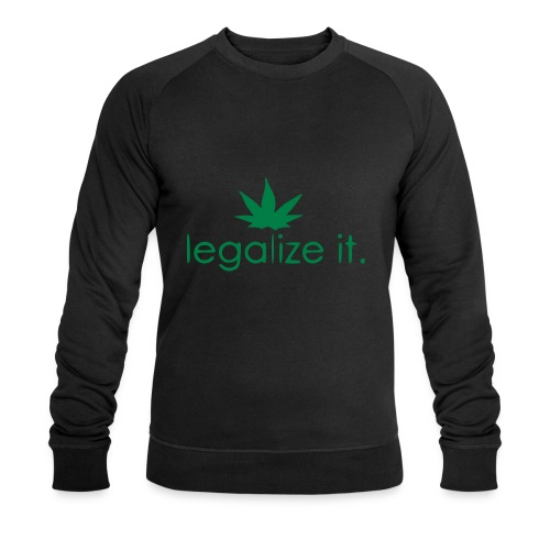 LEGALIZE IT! - Men's Organic Sweatshirt by Stanley & Stella
