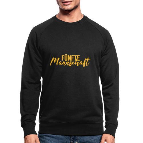 Fünfte Mannschaft Mixed - Männer Bio-Sweatshirt