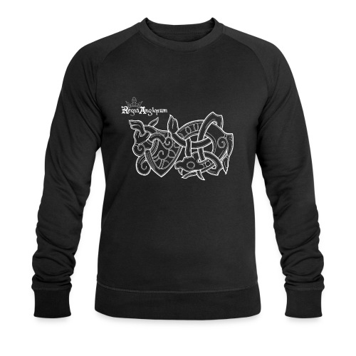 Regia TShirt Worm Clearbackground white - Men's Organic Sweatshirt