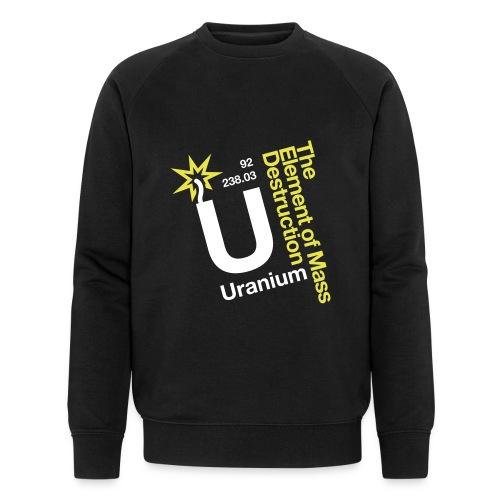 OBE Uranium - Men's Organic Sweatshirt by Stanley & Stella