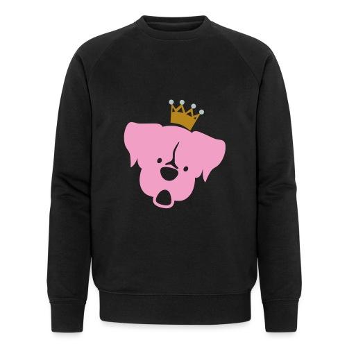 Prinz Poldi rosa - Männer Bio-Sweatshirt von Stanley & Stella