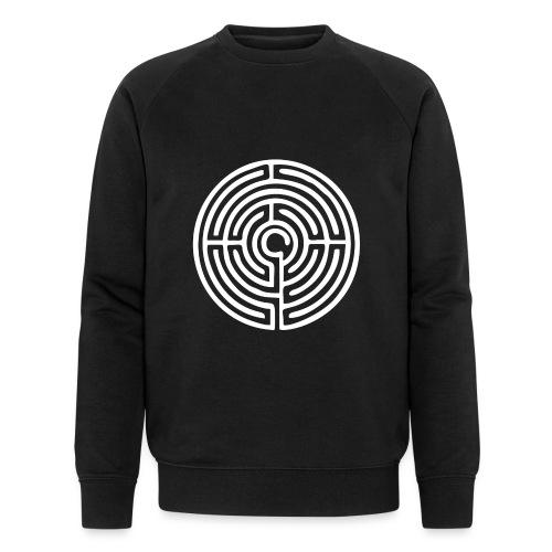Labyrinth Schutzsymbol Lebensweg Magie Mystik - Männer Bio-Sweatshirt von Stanley & Stella