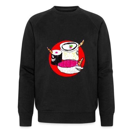 Unicorn Sushi - Men's Organic Sweatshirt by Stanley & Stella