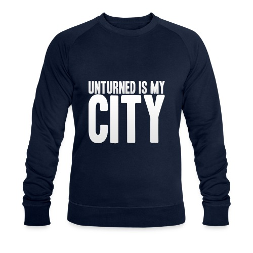 Unturned is my city - Men's Organic Sweatshirt by Stanley & Stella