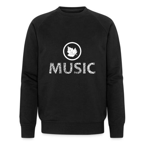 logo bashk music e bardhe - Men's Organic Sweatshirt